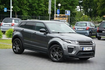 Land Rover Range Rover Evoque 2018r - 2.0D TD4 - Panorama  - Zarejestrowany PL